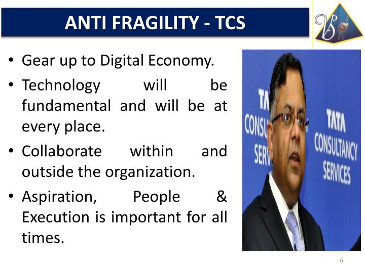 ANTI FRAGILITY - TCS