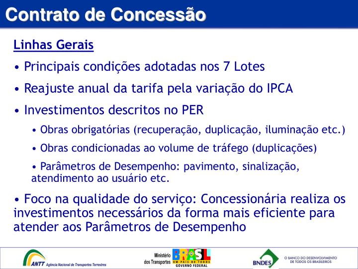 Contrato de Concessão