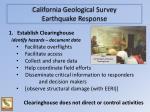 california geological survey earthquake response1