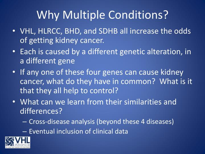 Why Multiple Conditions?