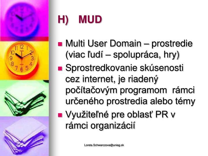 H)MUD