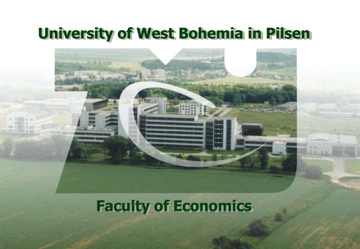 University of West Bohemia in P