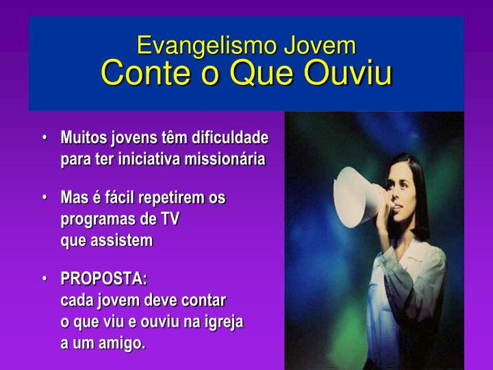 Evangelismo Jovem