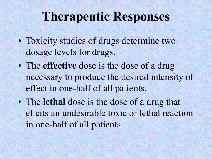 Therapeutic Responses
