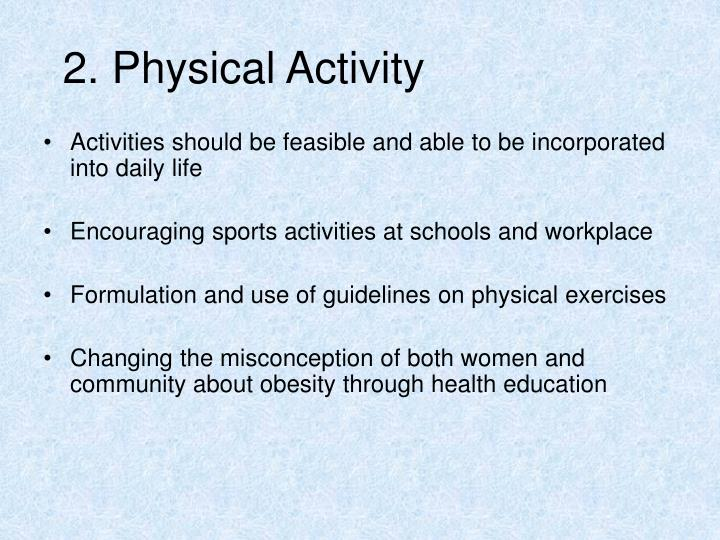 2. Physical Activity