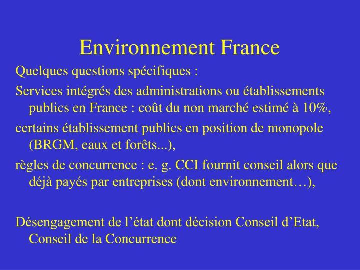Environnement France