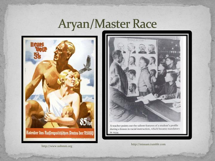 Aryan/Master Race