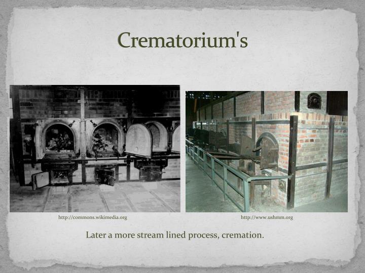 Crematorium's