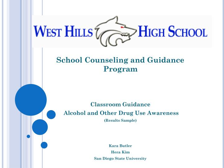 School Counseling and Guidance Program
