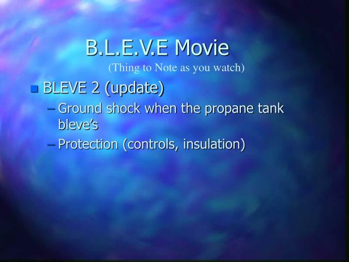B.L.E.V.E Movie
