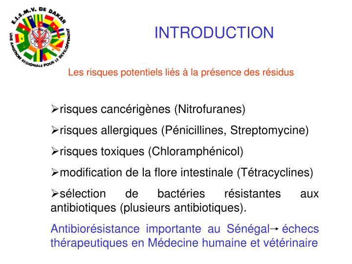 PPT - Contrôle des résidus : exemple des antibiotiques