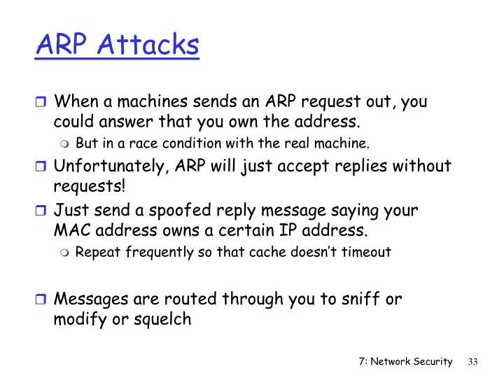 ARP Attacks