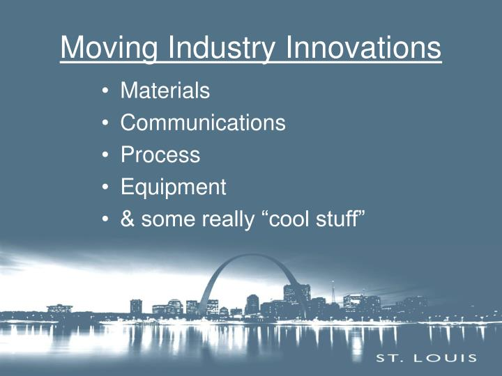 Moving Industry Innovations