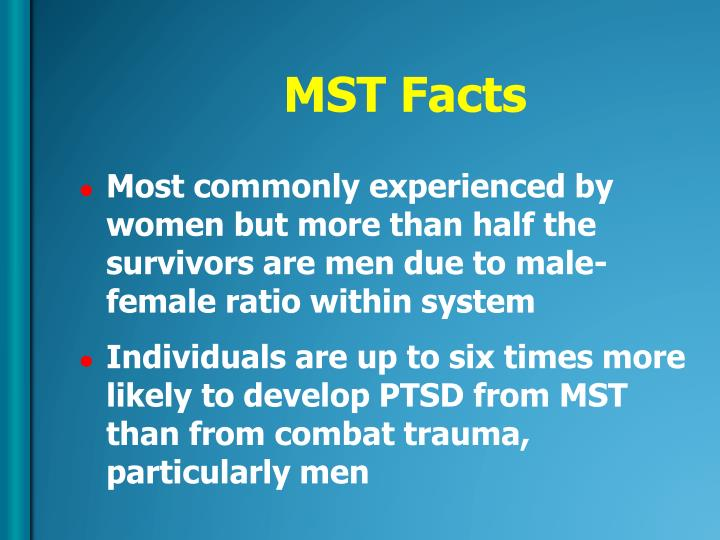 MST Facts