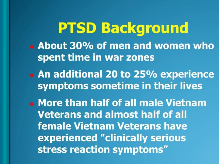 PTSD Background