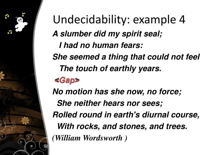 Undecidability: example 4