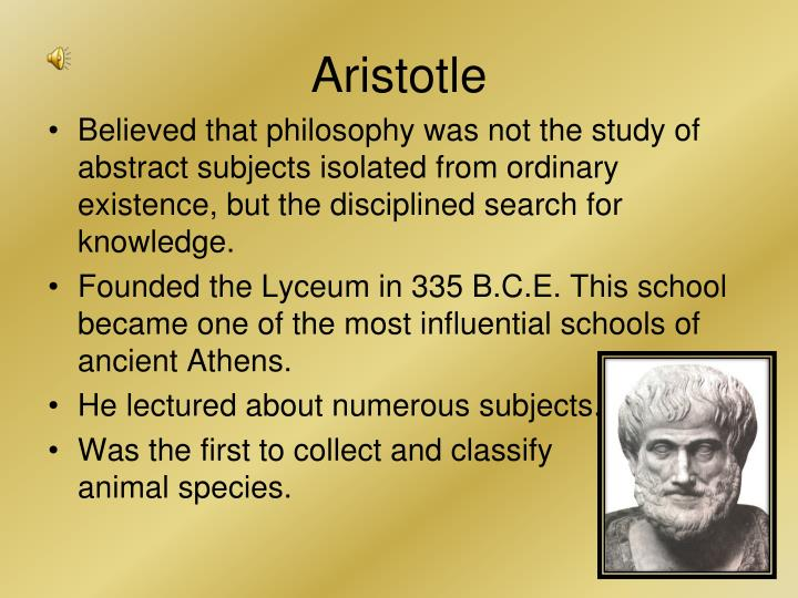 an analysis of the aristotles metaphysics on the men by nature towards the knowledge What knowledge and skills are worthwhile learning  barnes) aristotle disdains men of working class - talks to members of landholding class  theory of human nature.