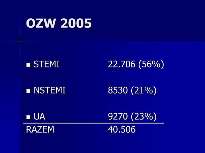 OZW 2005