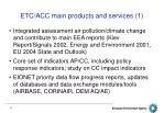 etc acc main products and services 1