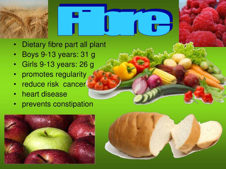 Dietary fibre part all plant