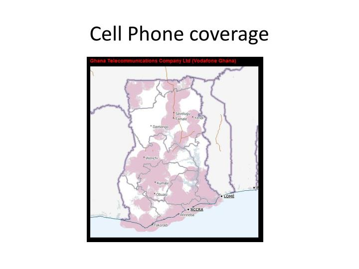Cell Phone coverage