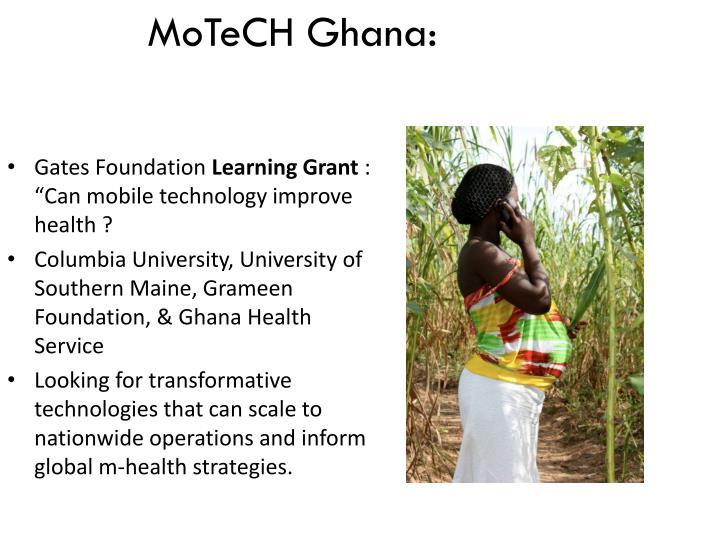 MoTeCH Ghana: