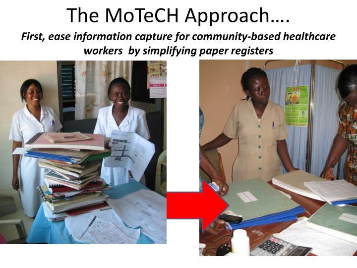 The MoTeCH Approach….