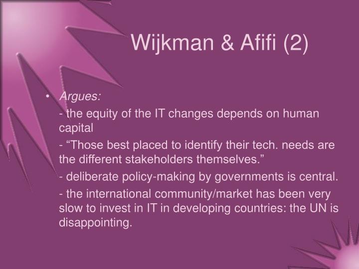 Wijkman & Afifi (2)