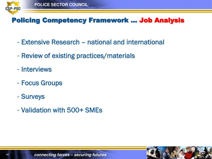 Policing Competency Framework …
