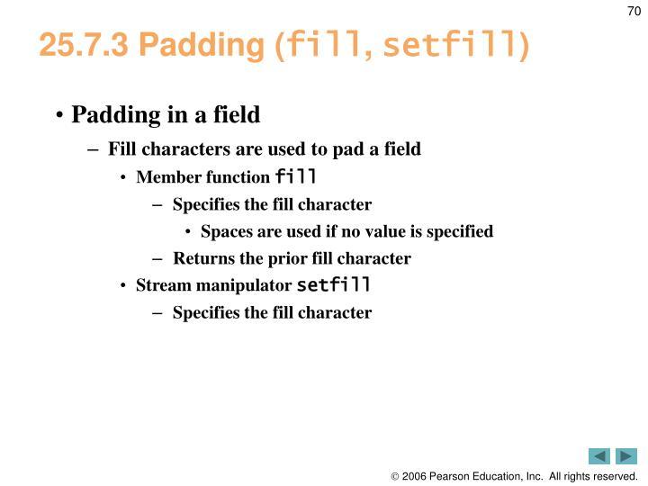 25.7.3 Padding (