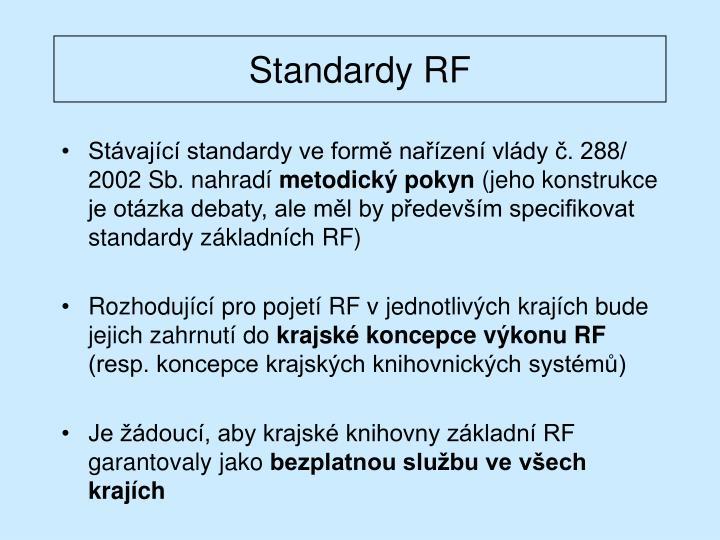 Standardy RF