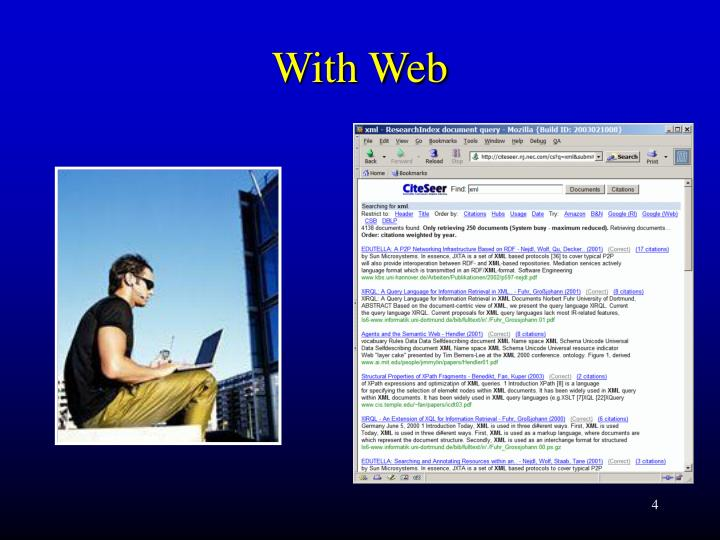 With Web