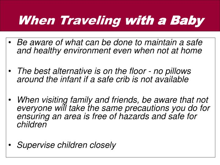 Be aware of what can be done to maintain a safe and healthy environment even when not at home