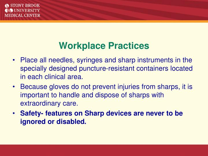 Workplace Practices