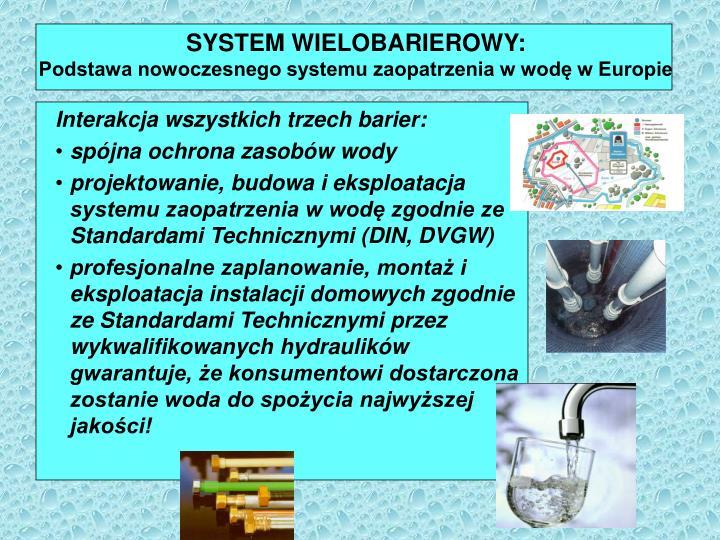SYSTEM WIELOBARIEROWY