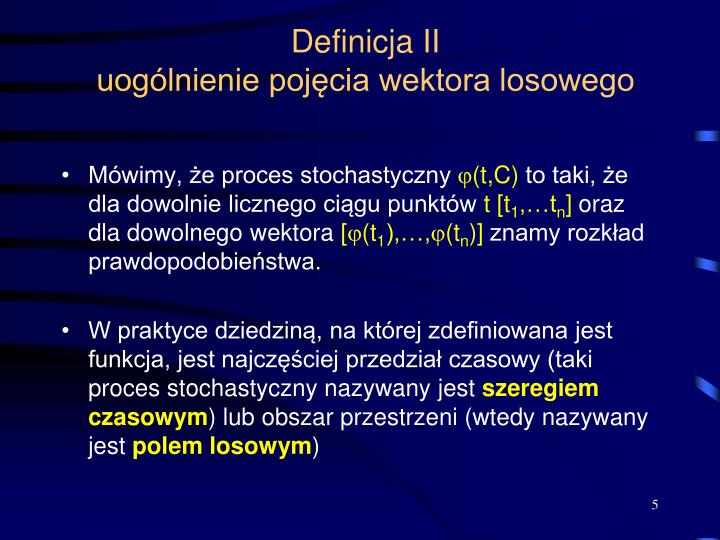 Definicja II