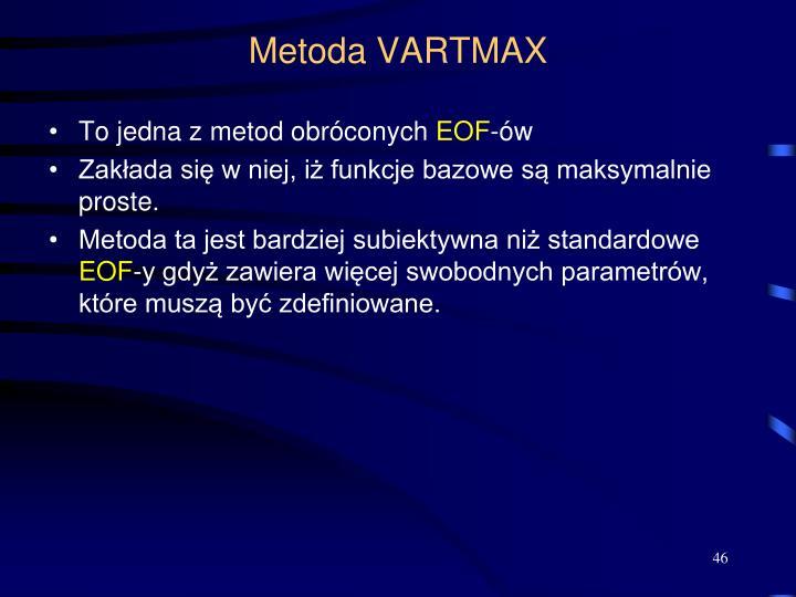 Metoda VARTMAX