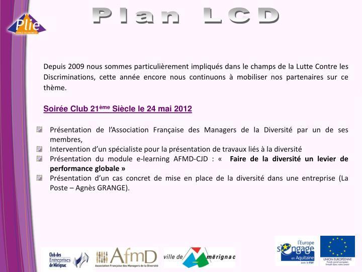 Plan LCD