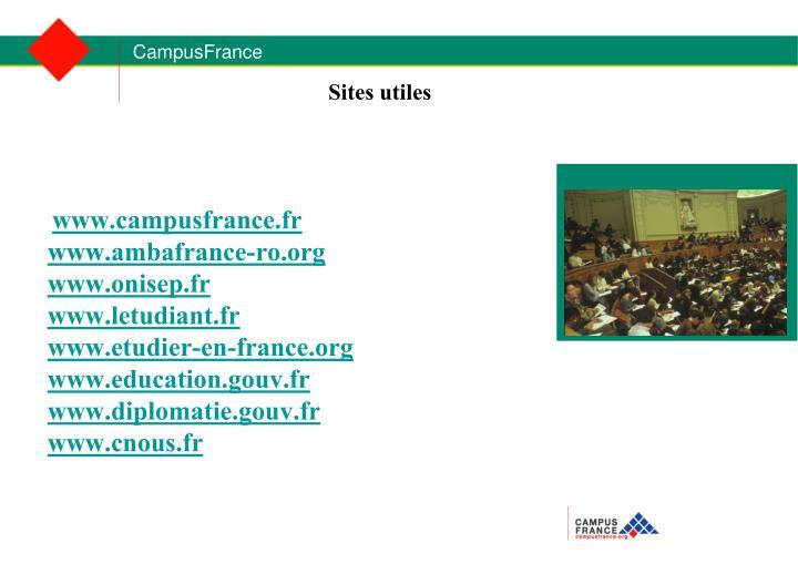 www.campusfrance.fr