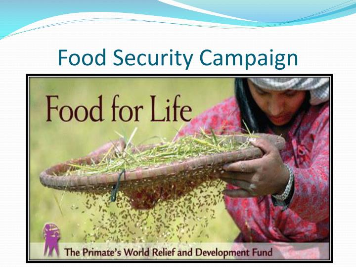 Food Security Campaign