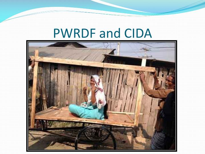 PWRDF and CIDA