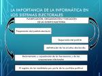 la importancia de la inform tica en los sistemas electorales democr ticos