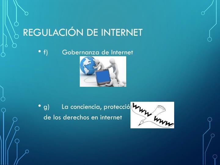 Regulación de internet