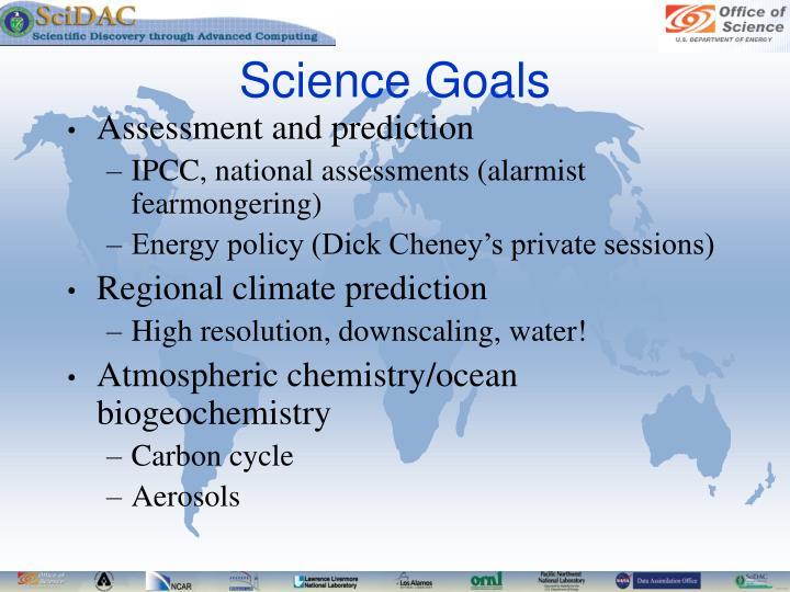 Science Goals