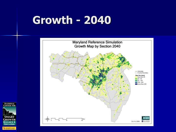 Growth - 2040