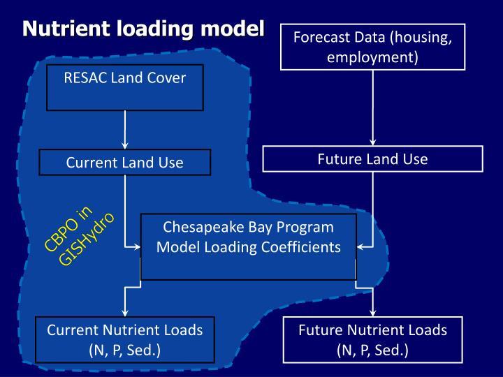 Nutrient loading model