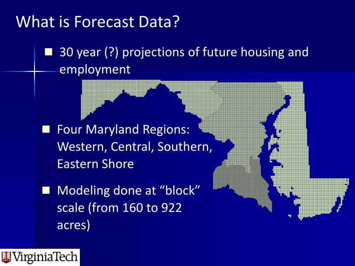 What is Forecast Data?