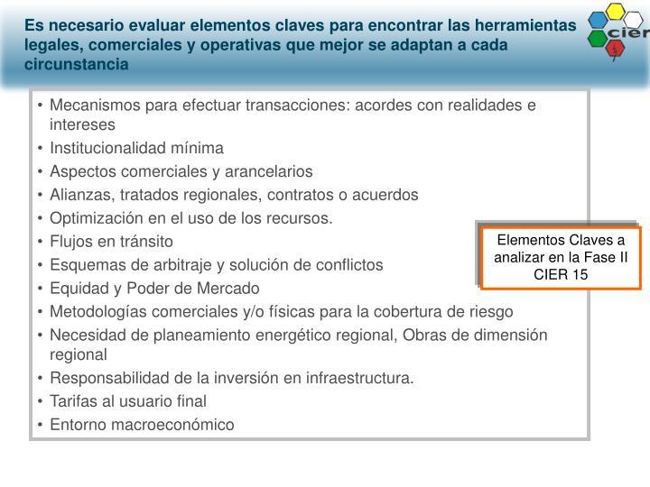 Mecanismos para efectuar transacciones: acordes con realidades e intereses