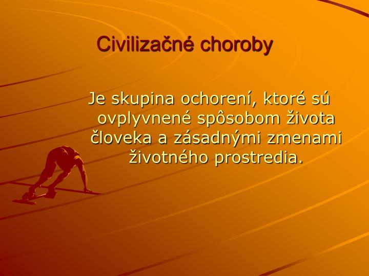 Civilizačné choroby