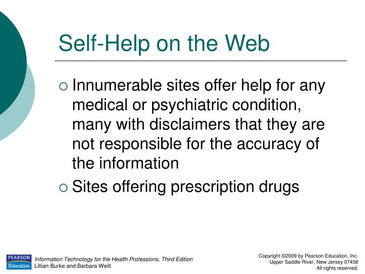 Self-Help on the Web